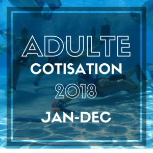 BUWH Cotisation Adulte 2018